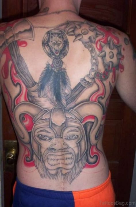 Alluring Back Tattoos For Boy's And Girls 20
