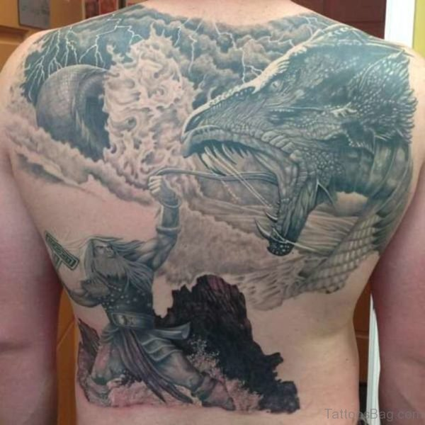 Alluring Back Tattoos For Boy's And Girls 30