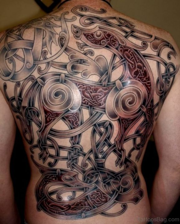 Alluring Back Tattoos For Boy's And Girls 31