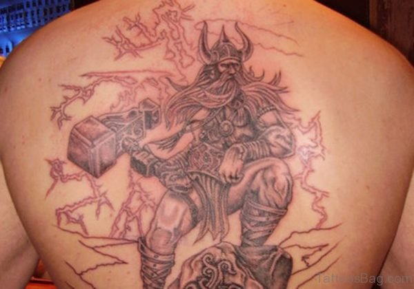 Alluring Back Tattoos For Boy's And Girls 37
