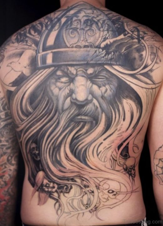 Alluring Back Tattoos For Boy's And Girls 57