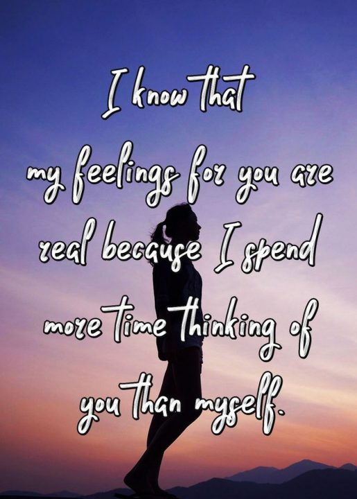 Love Quotes For Him i know that my feeling for you