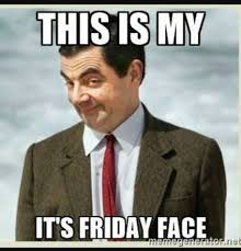 this is my it's friday face