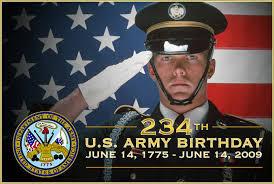 234 th us army birthday june