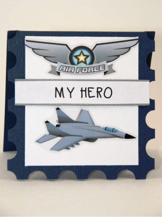 Air Force My Hero With NIce Plane