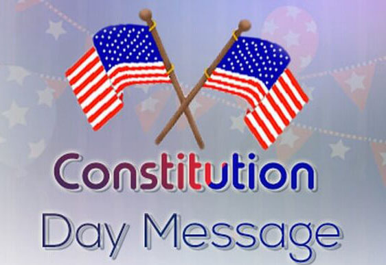 Constitution Day Message Wish