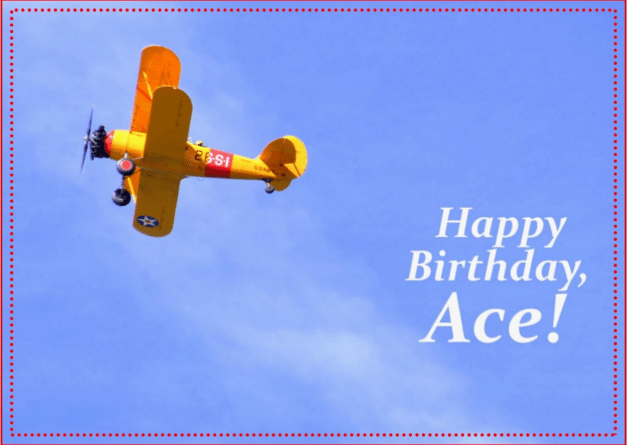 Happy Birthday Ace and Happy air Force Birthday