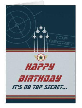 Happy Birthday Its NO Top SEcret