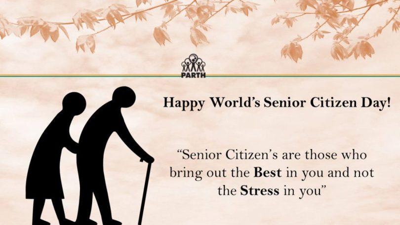 Happy World's Senior Citizen Day Seniour Citizen's are