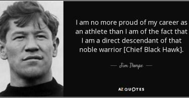 Jim Thorpe Quotes