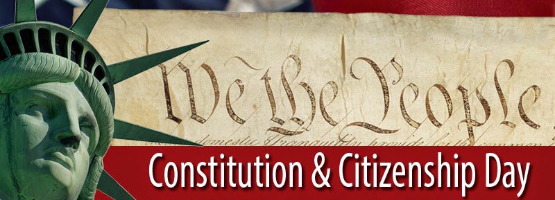We The People Constitution & Citizenship Day With Beautiful Photos
