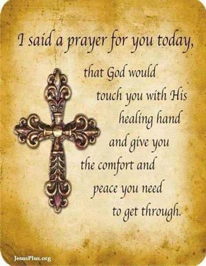 Latest Pray For Healing Quotes