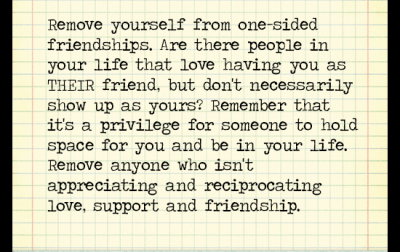 One Sided Friendships Quotes 0114