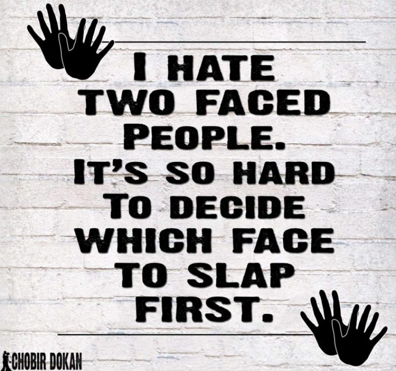 Fake People Quotes i hate faced people it's so hard