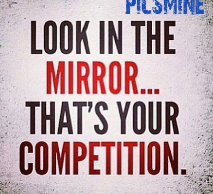 Motivational Quotes For Athletes Look in the mirror