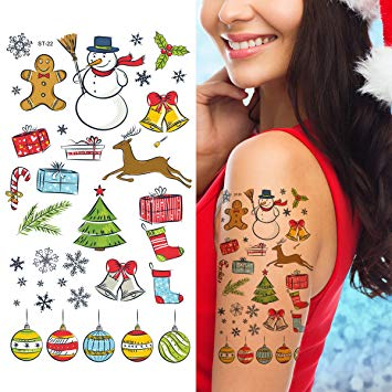 Merry Christmas Tattoos 03