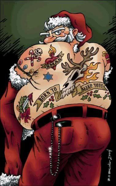 Merry Christmas Tattoos 04