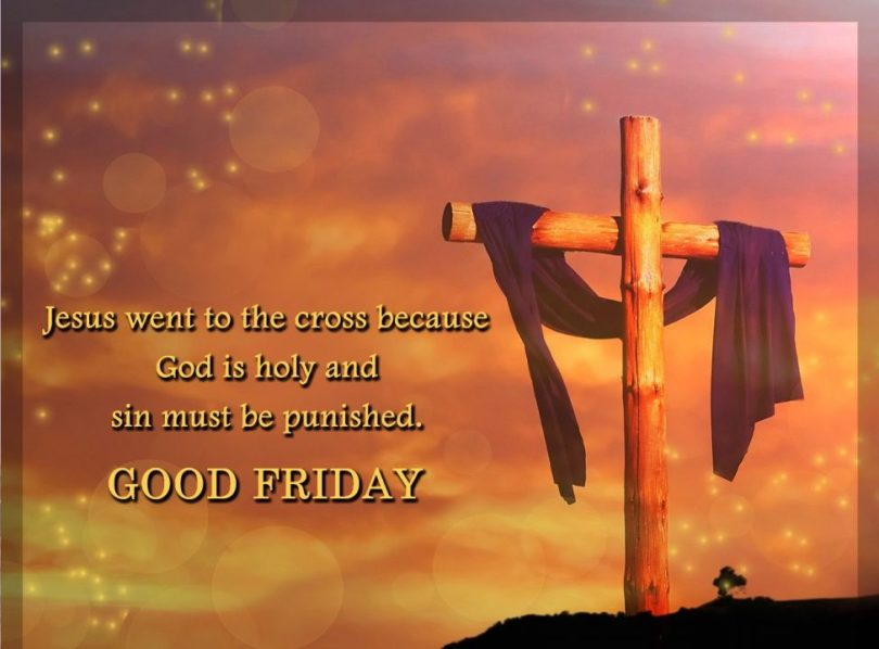 good friday greeting cards jesus went to the cross because