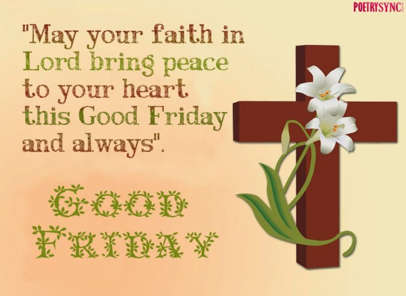 good morning wishes on friday may your faith in lord bring peace to your