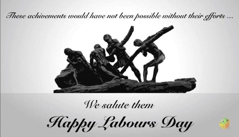 Happy Labous day We SAlute them