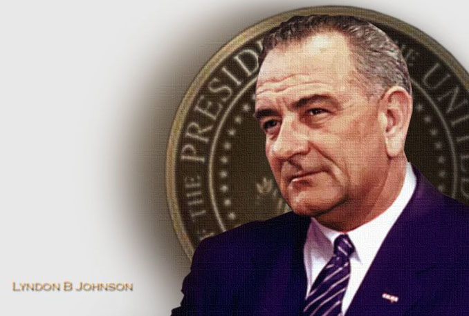 Lyndon Baines JOhnson day Wishes pic
