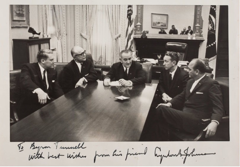 Lyndon Baines johnson day Wishes Photos