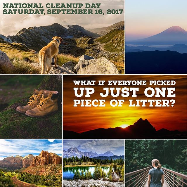 National Cleanup Day Saturday September