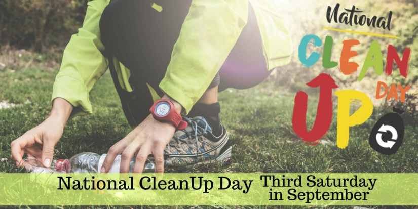 National Cleanup Day Third Saturday In