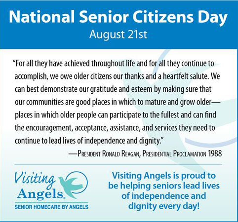 National Senior Citizens Day August 21st Wishes