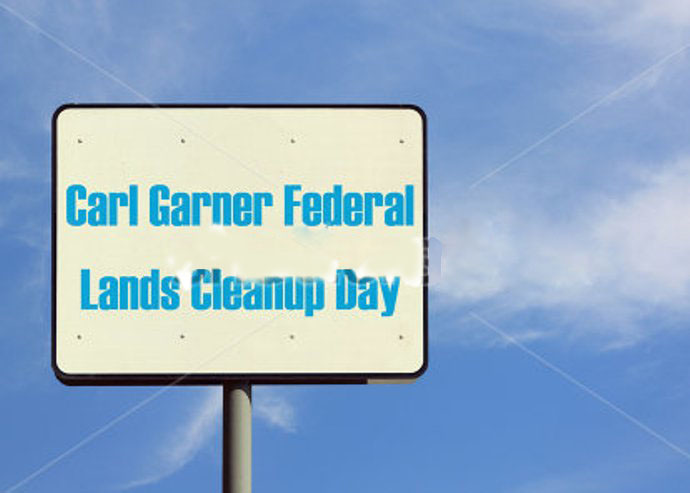 Nice Carl Garner Federal Lands Cleanup Day Wishes