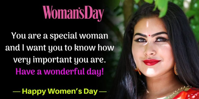 Woman's Day You are a Special
