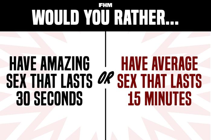 freaky memes questions have amazing sex that lasts 30 seconds