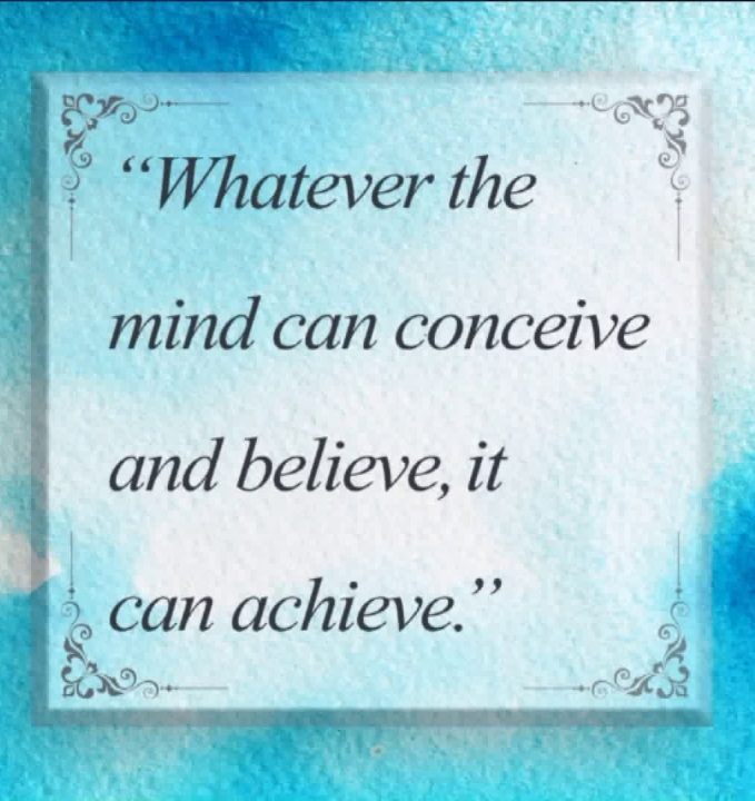 positive friday quotes whatever the mind can conceive
