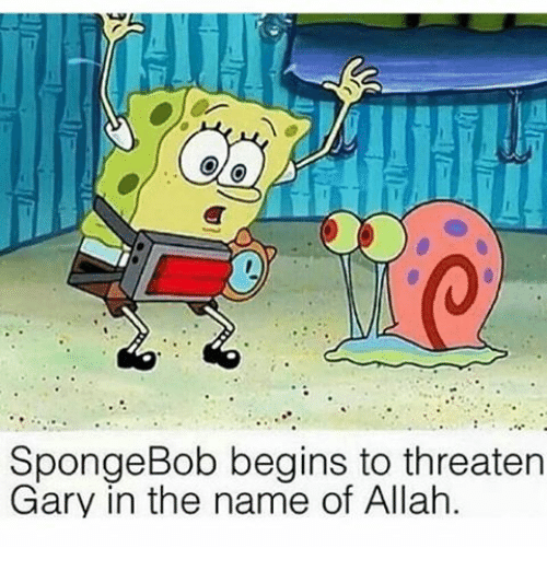 spongebob beins to threaten spongebob dank memes