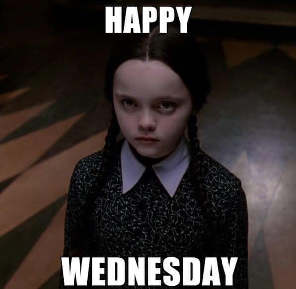 Best Ever Wednesday Memes With A Scary Girl