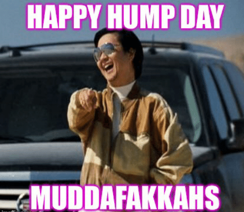 Crazy Hump Day Memes With A Man Doing A Finger