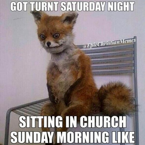 Got Turnt Saturday Night Sitting On Sunday Night