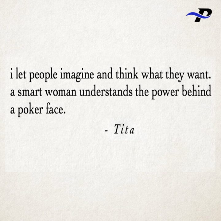 I Let People Imagine And Think What They Want