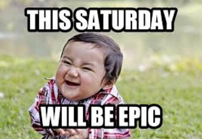 Mind Blowing Saturday Memes With A little Kid Laughing
