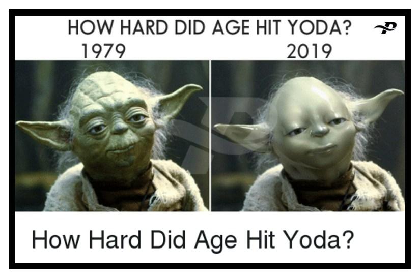 star wars memes yoda how hard did are hit yoda