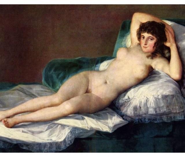 The Naked Maja Diego Velazquez Canvas