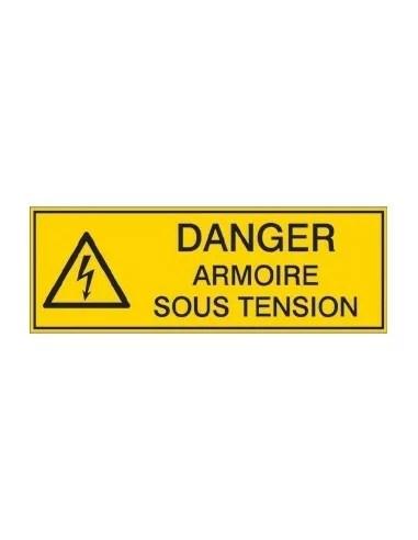 Panneau Danger Armoire Sous Tension Signalisation De