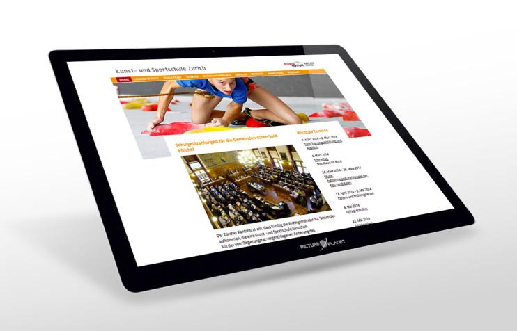 kunst-sportschule-zuerich-webdesign-1