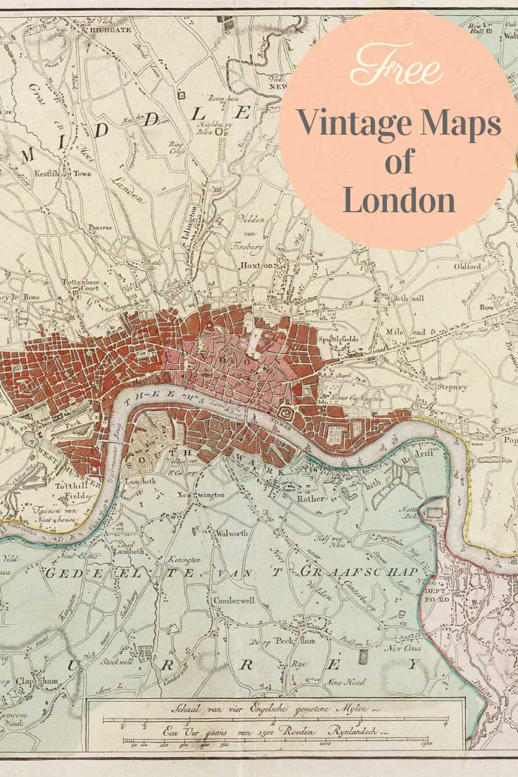 London Free Map.Stunning Free Vintage London Maps To Download Picture Box Blue