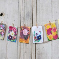 How To Craft With Free Vintage Seed Packets Art