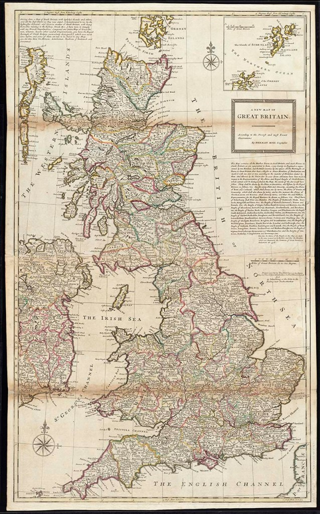 Map of Great Britain 1720