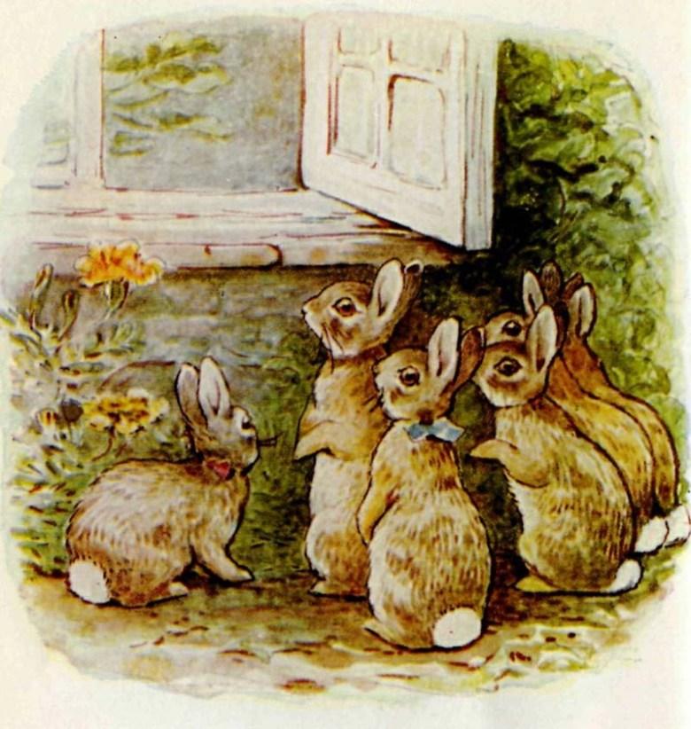 Flopsy Bunnies Beatrix Potter