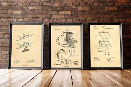 camping patent art