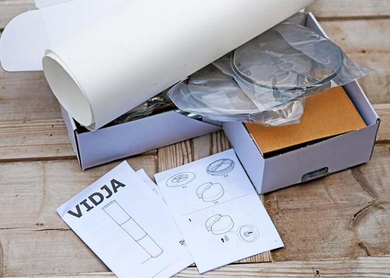 IKEA VIDJA unboxed