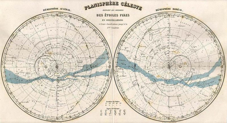 free Celestial map